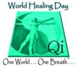 World Healing Day Logo and Motto