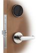 The KABA Saflok MT RFID door lock system.
