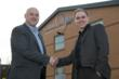 Tony Webster, Business Development Manager, welcomes Brett Dennis to Neil Hudgell Law.