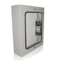 Protector™ Series - Wall-mount Air Conditioned Electronic/Electrical Enclosure Commonly Used for Fire Panel Protection