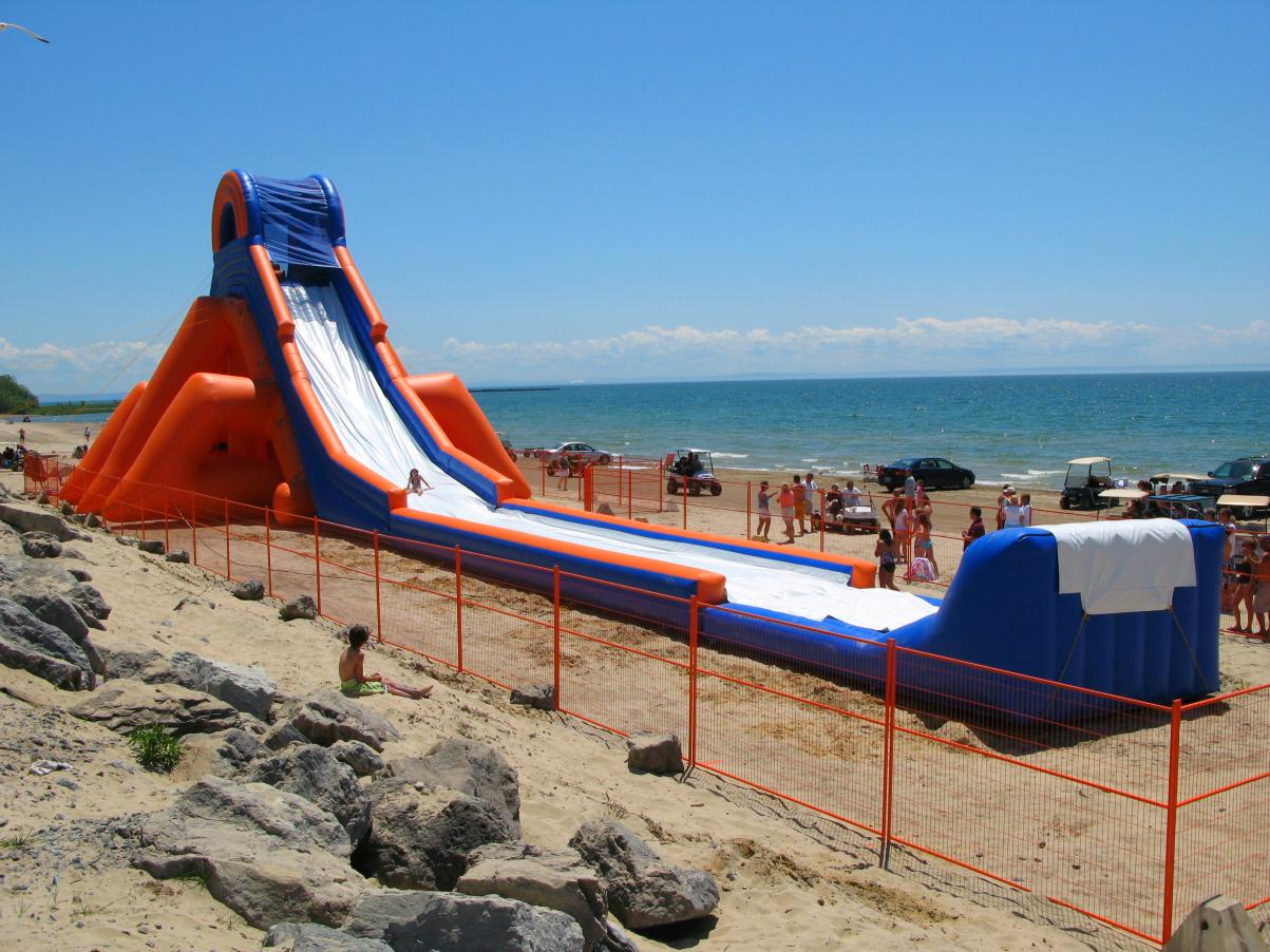 Monster Inflatable Water Slide Slidezilla Eyes Fresno