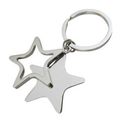 Engraved Prom Star Key Chain