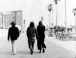 Poet/Artist Stuart Perkoff & Poet/Filmmaker Philomene Long on Venice Boardwalk