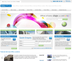 London Serviced Offices - Easy Offices Website