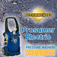 Top Prosumer Electric Pressure Washers @ Pressure Washers Direct