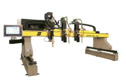 Sabre DXG cutting gantry for plasma and oxyfuel cutting from ESAB Cutting Systems