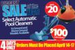 automatic pool cleaner sale