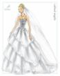 Disney Fairy Tale Weddings by Alfred Angelo Cinderella Platinum Anniversary Gown