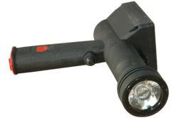 Lightweight UV pistol grip rechargeable spotlight