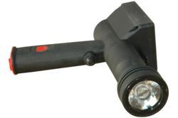 Lightweight UV pistol grip rechargeable spotlight