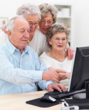 Internet service and computer training for senior living communities