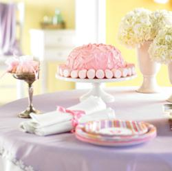 Tiny Toes Pink baby shower is one of our more popular baby shower themes for moms expecting a baby girl!