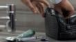 Bottega Veneta men's luxury toiletry travel bag