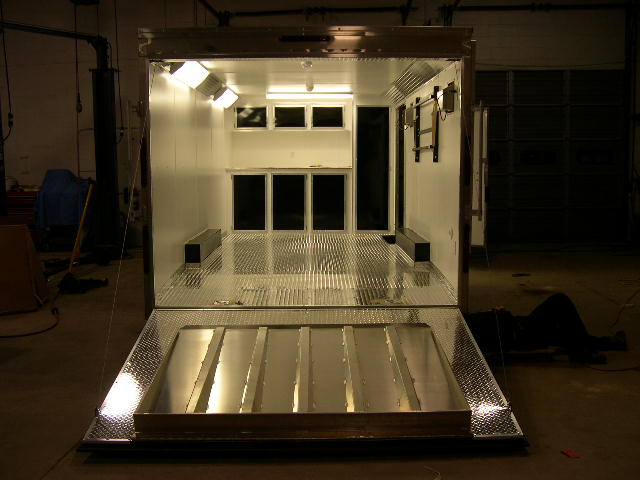 cabinets for enclosed trailer