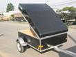 Lighweight Aluminum Luggage Trailers Offer Easy Pop-Up Hydraulic Lid