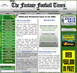 """America's Fantasy Football Newsletter- Delivered To Your PC Doorstep""™"