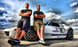 Matt Lundy (L) and Johnny Bohmer (R) of Performance Power Racing with Bohmer's record-breaking Ford GT. Image by Joseph Gazzola.