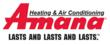 Amana Heating and Cooling products carry the best warranty in the HVAC business - authorized Pittsburgh Heating and Cooling dealers