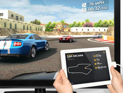 Real Racing 2 HD nows supports Full HD 1080p output on iPad 2.