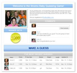 4moms Baby Guessing Game