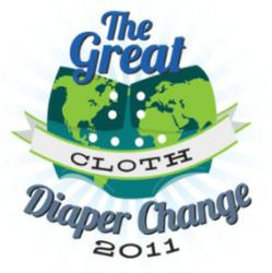 Guinness Record for cloth diapers - Earth Day event