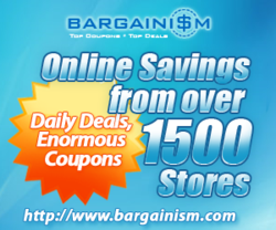 Coupon Codes, Top Deals, Online Coupons, Local Coupons | Bargainism.com