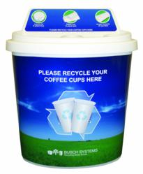 coffee cup recycler for your coffee cup recycling program