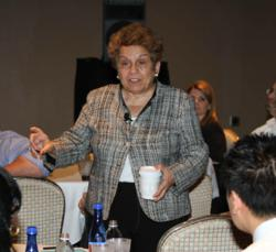 Dr. Donna E. Shalala, former Secretary of Health and Human Services, talked about healthcare reform at the Connolly Healthcare Summit.