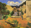 Gauguin's Landscape with three figures 1901