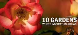 10 Gardens Where Inspiration Grows from Livability.com