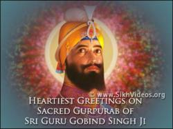 TV Program on Sikh Gurpurab of Sri Guru Gobind Singh Ji