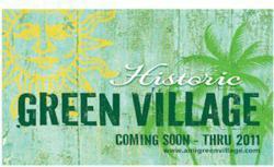 Anna Maria Historic Green Village Logo