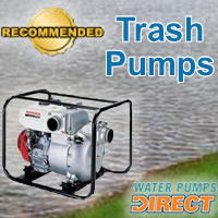 Top Trash Pumps @ Water Pumps Direct