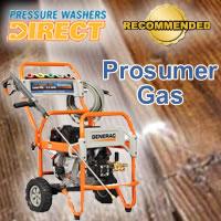 Top Prosumer Gas Pressure Washers @ Pressure Washers Direct