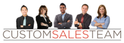 Custom Sales Team logo