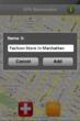 GPS Bookmarker for iPhone - Screenshot 2