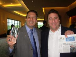 Jeff Pedowitz and Bruce Culbert Beam Proudly at Pacesetter Awards