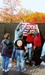 Veterans at the Vietnam Wall.
