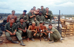 Group of Soldiers in Vietnam