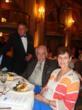 CArol Rowen with Carlos J. Valderrama at awards luncheon and fair.