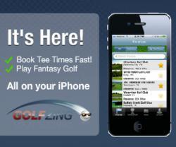 Golf tee time app