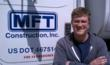 Travis Lienneman of MFT Construction serving Iowa and Nebraska