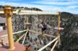 The Wind Walker Challenge Course at the Cave of the Winds is a new attraction in 2011