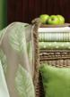 Sunbrella fabrics in Peridot and Parrot Greens
