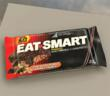 The truly delicious and super nutritious Chocolate Peanut Caramel Crunch Eat-Smart® whey protein bar