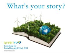 GREENVU.COM LAUNCHES ON EARTH DAY, APRIL 22, 2011