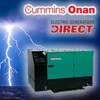 Cummins Onan RV Generators @ Electric Generators Direct