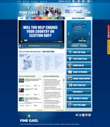Fine Gael Party Website