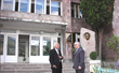 Mr. Anoushvan Abrahaminan, founder of AAEF,  meets with Mr. Aris Torosyan, Principal of Ijevan Vocational High School in Armenia