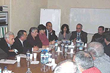 A Planning Session was recently held to discuss the future of Armenia's vocational high schools, including principals of Armenia's Schools, representatives of the Armenian Church, AAEF officials, and Mr. Artak Aghbalian, Head of the Middle VET Division in Armenia's Ministry of Science and Education.